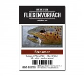 HRH Vorfach Interntl. 9ft. 0X Streamer (7kg)