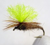 Hare's Ear Emerger Parachute, Gr. 14