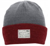 Vision Willa Light Beanie, Red/Grey