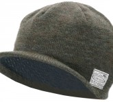 Vision Willa Bill Beanie, Dark Olive