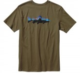 *Patagonia M's Fitz Roy Trout Cotton T-Shirt