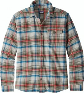 *Patagonia M's LW Fjord Flannel Shirt