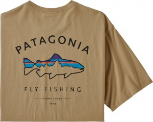 Patagonia M's Framed Fitz Roy Trout T-Shirt CSC