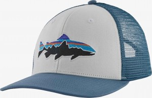 Patagonia Fitz Roy Trout Trucker Hat, WHI