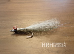 Clousers Deep Minnow, Olive/White Gr. 02