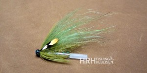 Tube Fly Canyon, Light Olive (5cm)