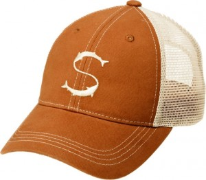 Salmologic Cap, Trucker Burnt/Stone