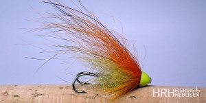 Tube Fly AP, Olive & Orange