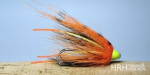 Tube Fly AP, Rubber Leg Orange