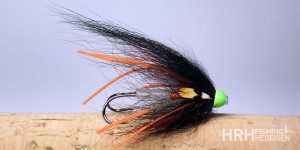 Tube Fly AP, Rubber Leg Black