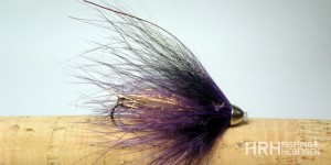 Tube Fly AP, Black & Purple