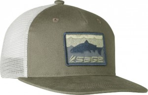 SAGE Hat Patch Trucker, Green