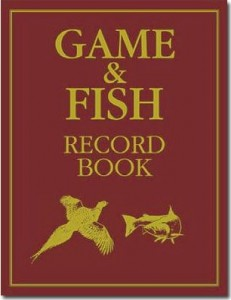 Buch Game & Fish Record Book